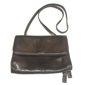 Vtg Fossil Crossbody Leather Purse Brown Small